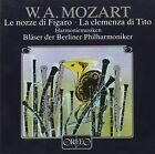 Mozart Berlin Philharmonic - Music for Winds From La Clemenza Di Tito CD