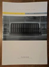 LINCOLN TOWN CAR orig 1994 USA Mkt Large Format Sales Brochure - Cartier Exec