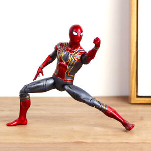 Marvel-Avengers-3Infinity-War-Iron-Spider-man-heroes-Action-Figure-7-039-039-Toy-gift