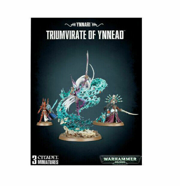 Ynnari Triumvirate of Ynnead Brand New in Box! Warhammer 40k 46-27