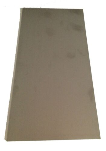1/16 Stainless Steel Plate, 1/16 x 0.50 x 12, 304SS, 16 gauge, .0625
