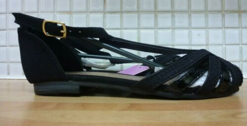 F/&F Tesco Girls Show Cage Sandals Sizes 11 or 12 BNWT RRP £13 Black Uk Freepost
