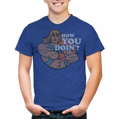 New He Man Masters of the Universe How You Doin/' Men/'s Graphic T-shirt