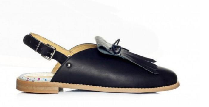 L37 Unique Handmade OPEN SKY Leder Fringe Schuhes UK 6 EU 39 LG09 40
