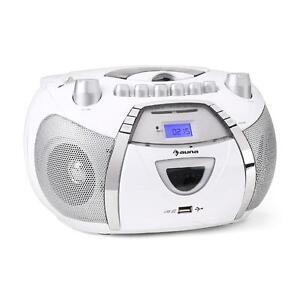stereo radiorecorder cd player boombox kassettenrekorder. Black Bedroom Furniture Sets. Home Design Ideas