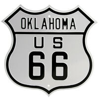 Route 66 Oklahoma Highway Sign