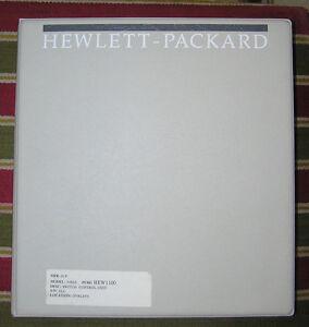 hp model 3488a service operating programming configuration manual rh ebay com HP Printer User Manual HP Product Manuals
