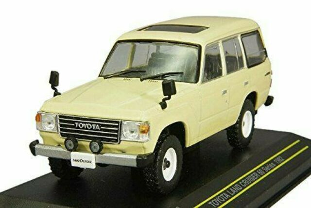 FIRST: 43 1/43 Toyota Land Cruiser 60 series 1982 beige finished product MDCS017