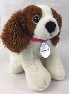 Nintendogs Plush Dog Stuffed Animal Brown White Puppy Nintendo