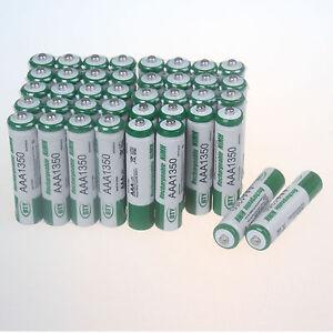 40-X-1-2V-AAA-1350mAh-NiMH-wiederaufladbare-batterien-BTY-Akkus