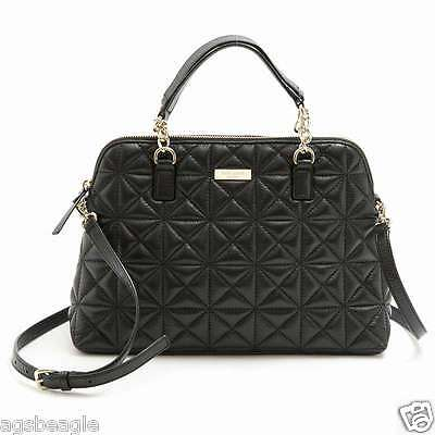 Kate Spade Bag WKRU3277 Small Rachelle Whitaker Place Black Agsbeagle
