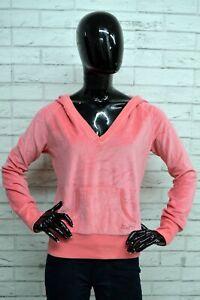 Felpa-Donna-ATMOSPHERE-Taglia-L-Pullover-Cardigan-Sweatshirt-Maglione-Rosa