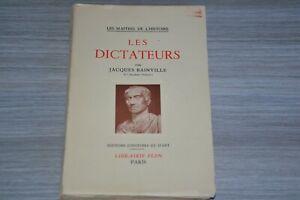 Les-dictateurs-Jacques-Bainville-Les-Maitres-de-l-039-Histoire-Ref-C30