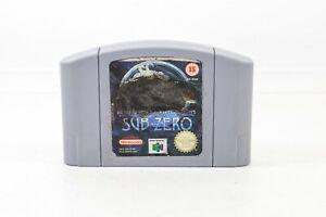 Prueba de trabajo Mortal Kombat mitologías Sub-zero Nintendo 64 N64