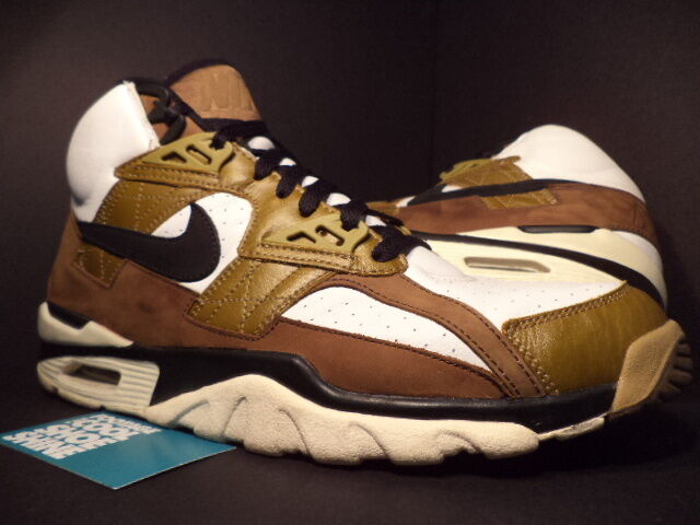 2003 Nike Air Max TRAINER SC HIGH ESCAPE 1 blanc  Noir BROWN rouge 302346-102 13