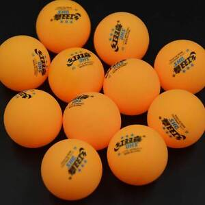 100Pcs-DHS-3-Stars-40mm-Olympic-Table-Tennis-Orange-Ping-pong-Balls