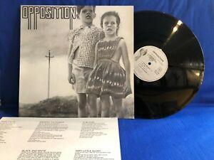 OPPOSITION BREAKING THE SILENCE + INSERT  ORIGINAL FRANCE LP NEAR MINT