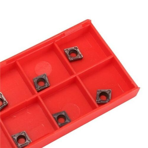10PCS CCMT060204 VP15TF Carbide Inserts CCMT0602 For Lathe Turning Tool Holder