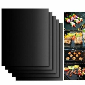 BBQ Grill Mat Accessories Non-Stick Reusable and Heat Resistant Barbecue Tool