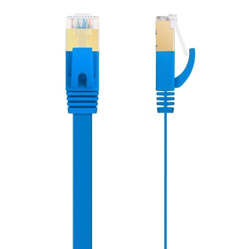 50ft Flat CAT6 CAT 6 RJ45 Patch Cable Cord Ethernet Internet Network LAN UTP US