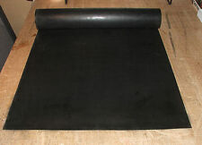 "1//8/"" thick Neoprene Rubber Sheet 12/"" x 48/"" Long Black Surface 48hr SHIPPING"