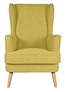 Argos-Home-Callie-Fabric-Wingback-Chair-Mustard-Yellow