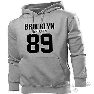 504472d6b Brooklyn US Athletics 89 Hoodie Men Women Kids New York City Nyc ...
