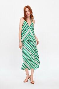 cherrie424: NWT Zara Striped Midi Skirt