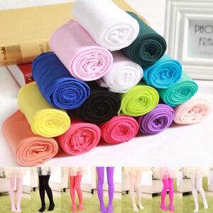 c361fdfa6 Image is loading Fashion-Children-Pants-Stretch-Ballet-Socks-Girls -Pantyhose-