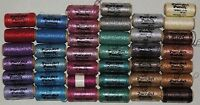 39 Spools Purr-fect Punch Embroidery Metallic Thread Twinkle Retail $185