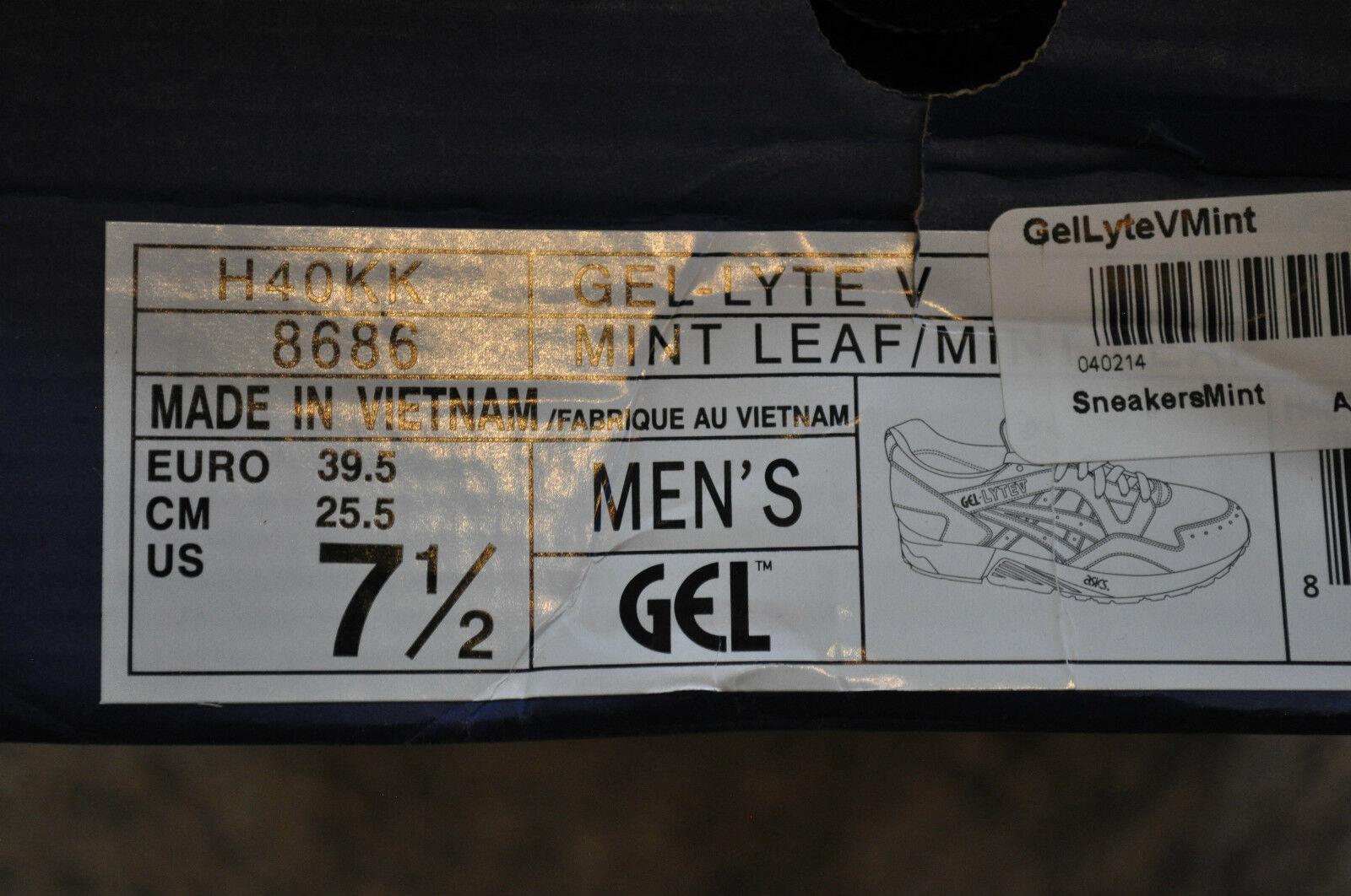 Asics x Ronnie Fieg Fieg Fieg Gel Lyte 5 'Mint Leaf' 6.5 UK 730d33