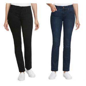 SALE-Jones-New-York-Ladies-039-Comfort-Waist-No-gap-Jones-Slim-Jeans