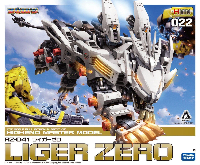 KOTOBUKIYA ZOIDS HMM 022 RZ-041 LIGER  ZERO 1 72  profitto zero