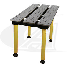 "BuildPro™ 2' (0.56m) x 3' Welding Table: 30"" of Height with Standard Finish"
