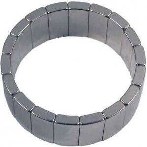 54mm x 46mm x 20mm motor magnets neodymium rare earth for Rare earth magnet motor