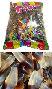Trolli-Oiled-Cola-Bottles-2kg-Bottle-Candy-Buffet-Gummy-Lollies-Sweets-Fresh