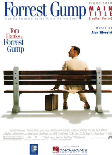 Forrest Gump Main Title FEATHER THEME  leichte Mittelstufe Klavier Noten