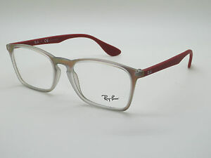 855f3bb2d9 NEW Authentic Ray Ban RB 7045 5485 Iridescent Red 55mm RX Eyeglasses ...