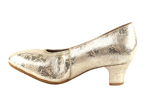 Women/'s West Coast Swing Salsa Ballroom Dance Shoes low Heel 2 VeryFine CD5013