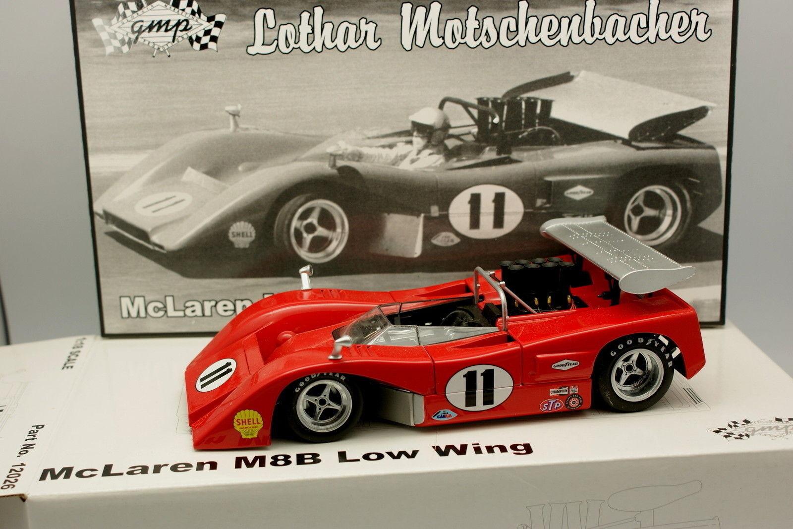 GMP 1 18 - McLaren M8B Low Wing Nº18 Lothar
