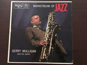 Gerry-Mulligan-Mainstream-of-Jazz-Vintage-LP-1956-Great-Condition-MG-36101