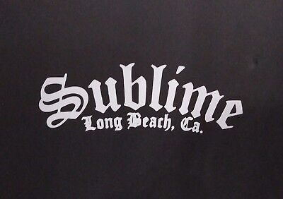 Sublime Vinyl Decal For Laptop Windows Wall Car Boat B