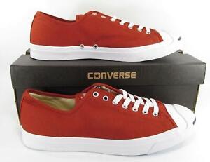 Converse-Jack-Purcell-JP-JACK-OX-Low-Top-Sneaker-TERRA-RED-157784C-Men-039-s-13