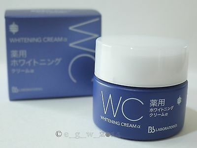 Bb LABORATORIES Medicated Whitening Skin Care Cream α 30g for one month