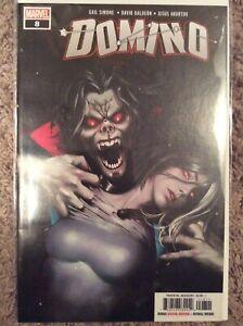 DOMINO 8  MORBIUS vampire cover MARVEL comic book