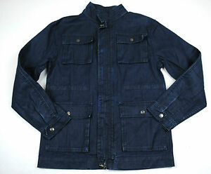 Seven 7 for all Mankind Denim Jacket Boys NWT XL Coated Anorak