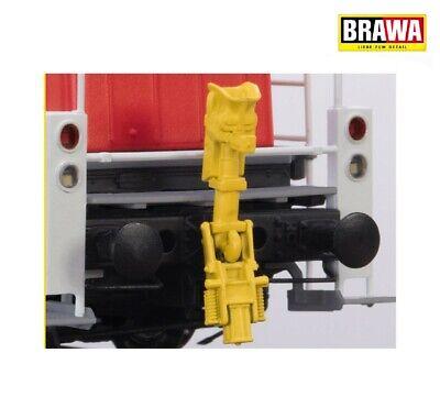 2 unidades Brawa 93707 rangierkupplung RK 900 + nuevo en OVP intercambio acoplamientos