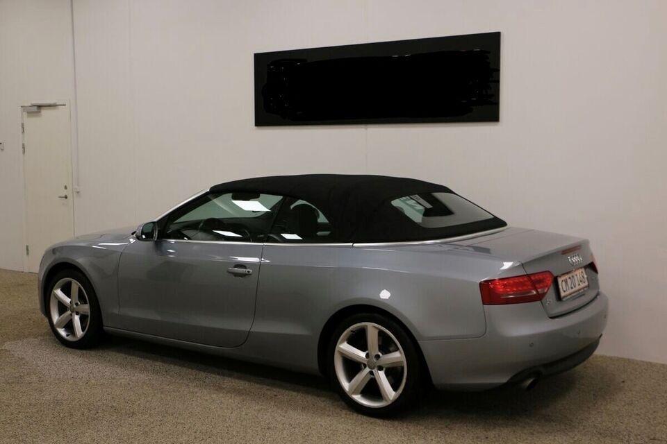 Audi A5, 2,0 TFSi 180 Cabriolet Multitr., Benzin