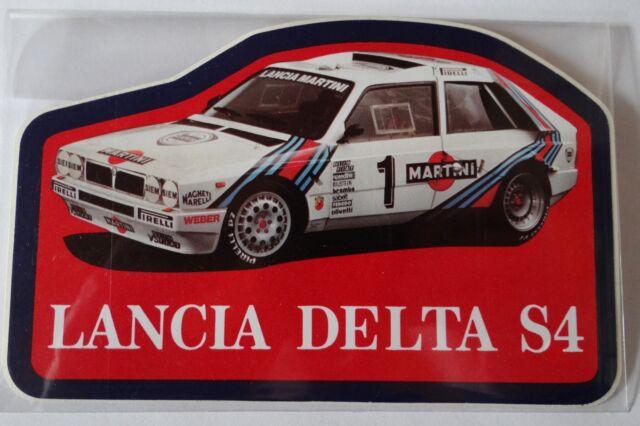 Aufkleber LANCIA DELTA S4 Martini Racing 80er Sticker Autocollant Rallye