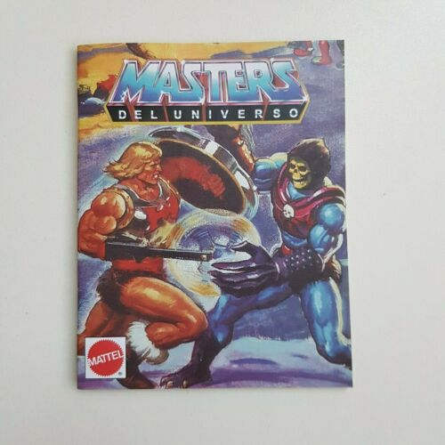 Minicatalogo Español 1987 Masters of the Universe Minicomic MOTU REPRO
